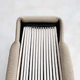 The book cover is supple, and soft to the touch with extra thick padding