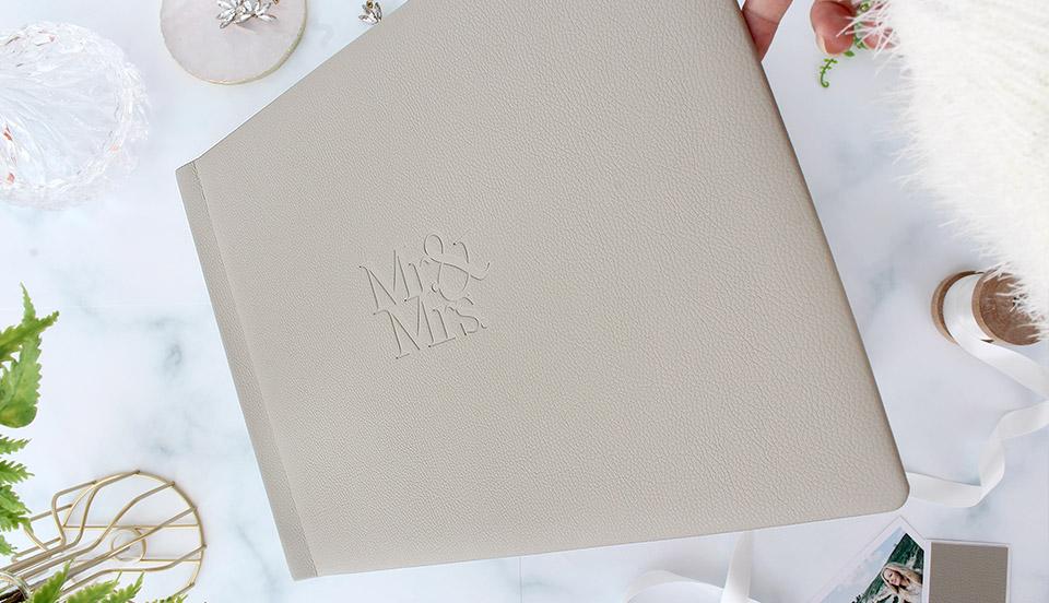photo book Personalised large luxury photo album Wedding Engagement Valentine